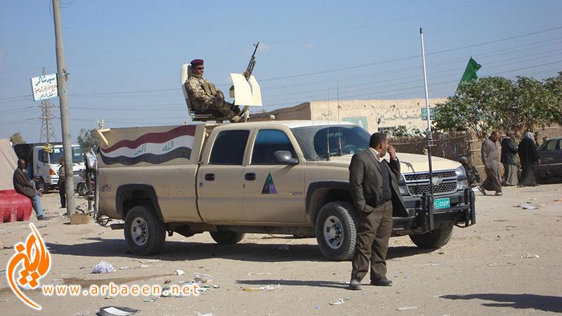 ورود به عراق