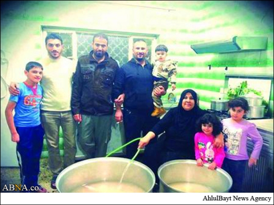 26 سال آشپزی یک زن سنی مذهب برای امام حسین