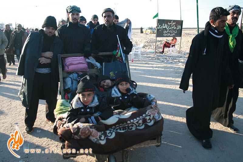 حضور چشمگیر کودکان در پیادهروی اربعین
