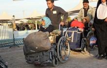 تصاویر خروج زائران اربعین حسینی از مرز مهران