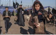 پذیرایی موکبهای حسینی در استان میسان از زائران + تصاویر
