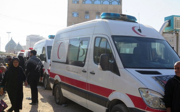 خدمات شبانهروزي بيمارستان امام حسين در كربلا