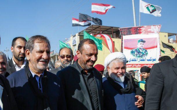 حضور معاون اول رئیس جمهور در پیاده روی اربعین حسینی